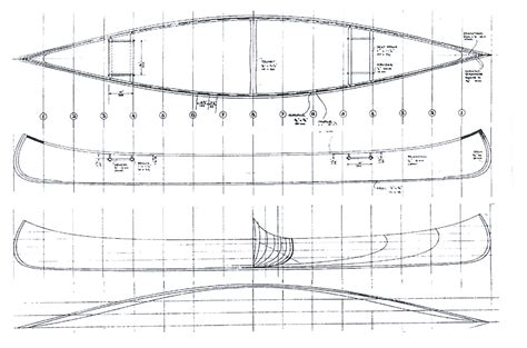 Plans A by Beaver Canoe Building Plans