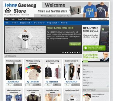 blogspot themes shop 15 free blogger templates for online shops and stores