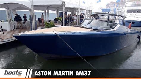 aston martin boat aston martin am37 first look video fresh salmon fresh