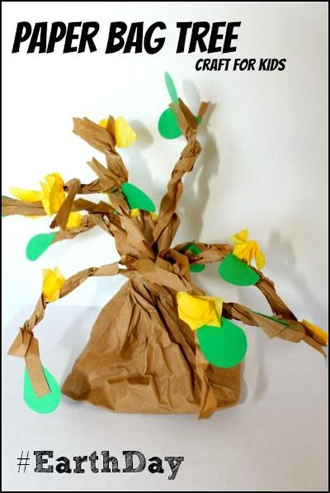 Paper Bag Tree Craft - the world s catalog of ideas