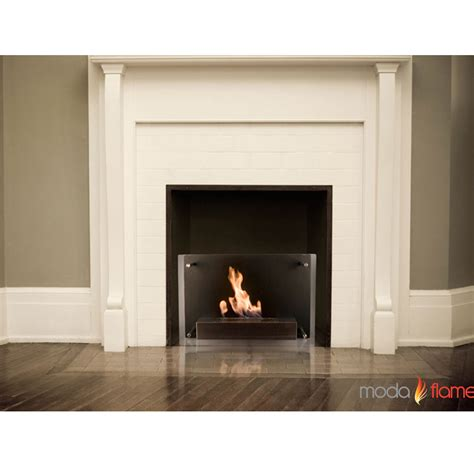 wall mounted fireplace moda epila wall mounted ethanol fireplace