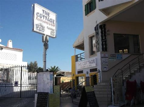 the cottage restaurant the strip albufeira picture of
