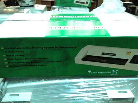 Mesin Laminating Lpf 330 jual jual mesin laminating lamipacker lpf 330wh kualitas