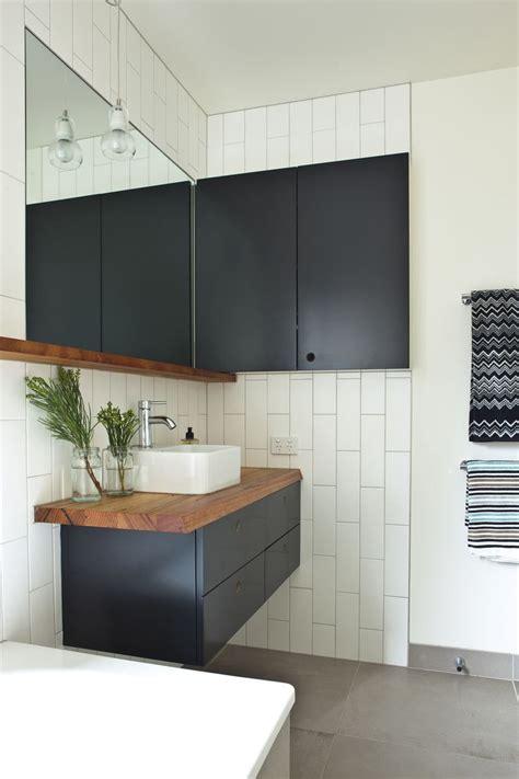 badezimmerwand regal ideen tour a peaceful modern australian home sanit 228 r b 228 der
