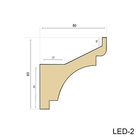 led stuckleiste 40 meter led profil pu stuckleiste indirekte beleuchtung