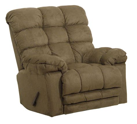 rocker recliner with massage and heat catnapper magnum chaise rocker recliner with heat and