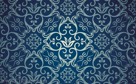 pattern vector cdr free download retro floral background vector design material cdr