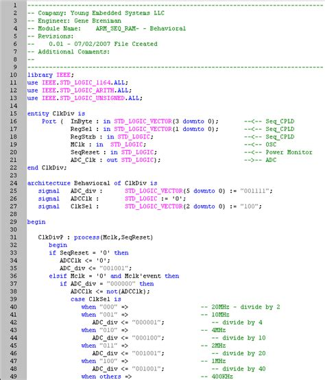 test bench in verilog exles vhdl tutorial gene breniman