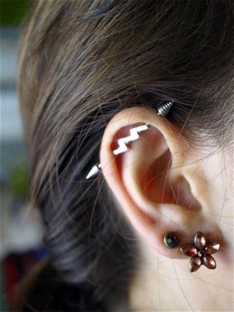 Top Ear Bar by 25 Best Ideas About Industrial Piercing On