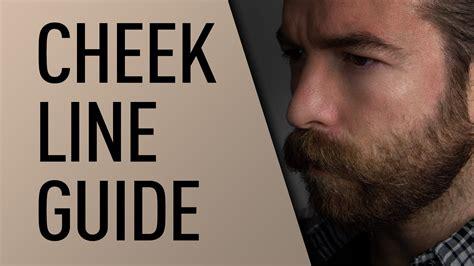 choosing a cheek line for your full beard all about beards beard cheek line guide jeff buoncristiano youtube