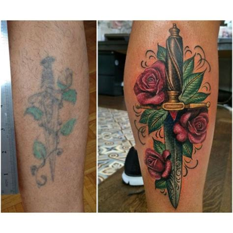 tattoo cover up calf 8 best images about dagger tattoos on pinterest sword