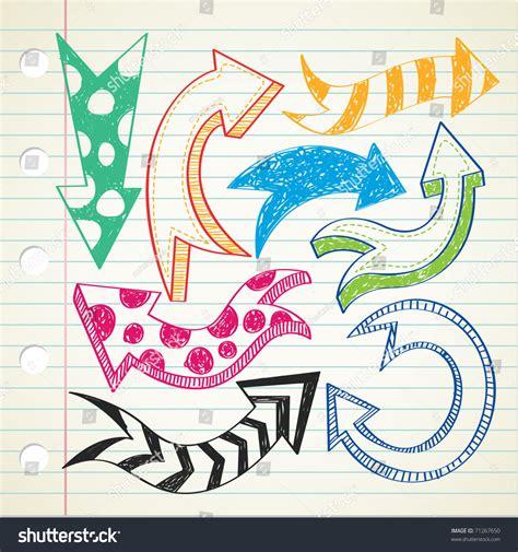 arrow doodle free vector arrow doodle stock vector illustration 71267650