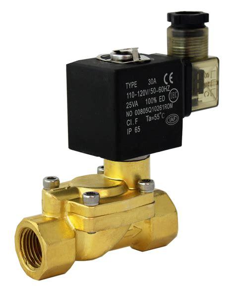 Solenoid Valve Kuningan 1 14 Inchi 24vdc Normaly Closed process valves water solenoid valve steam valve diaphragm valve