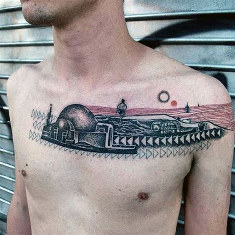 creative tattoo ideas for men 50 unique chest tattoos for masculine design ideas