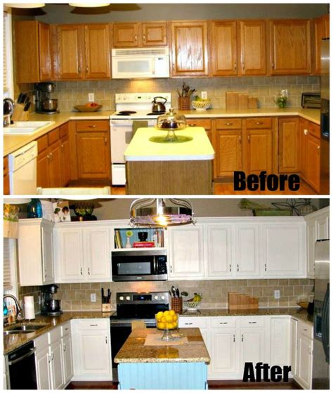 redo kitchen cabinets diy diy low budget kitchen remodel my projects completed