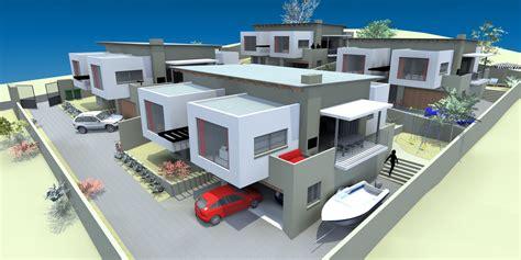 4 bedroom housing 4 bedroom cluster housing mobius design