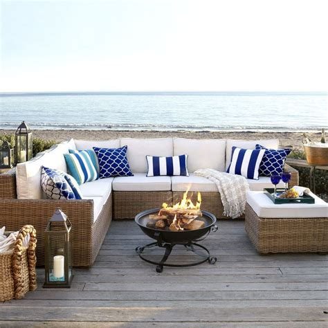 beach couch 25 best ideas about outdoor sectional on pinterest