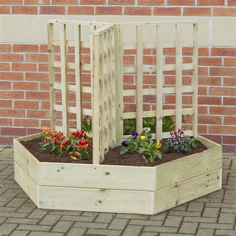What Is Planters by Buy Wooden Planters With Trellis Tts