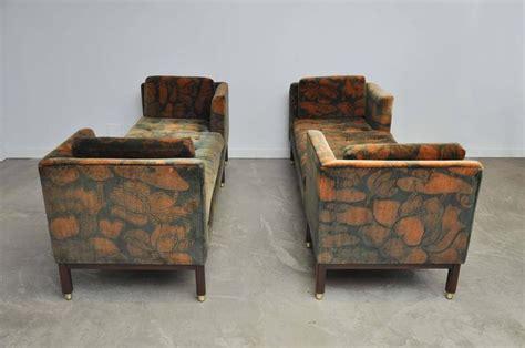 tete a tete sofa sale dunbar tete a tete sofas by edward wormley for sale at 1stdibs