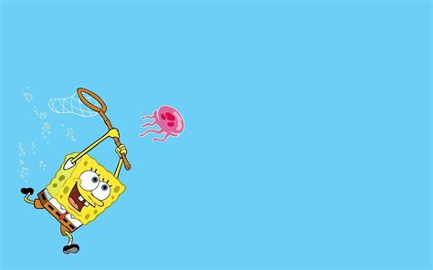 Wallpaper Spongebob Biru | spongebob backgrounds wallpaper cave