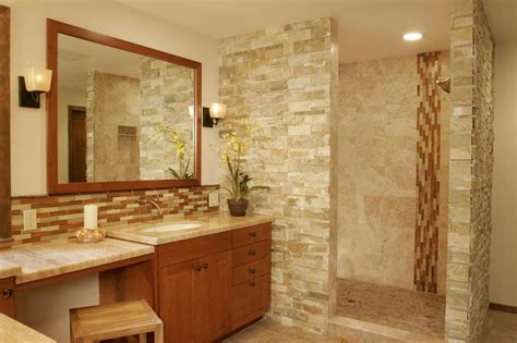 what to use on bathroom walls bathroom splashy accent wall for bathroom decoroption