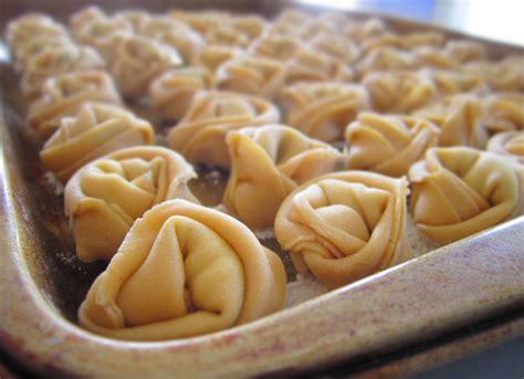 Handmade Tortellini - cheese tortellini lingonberry jam