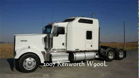 W900 Studio Sleeper by 2007 Kenworth W900l Studio For Sale