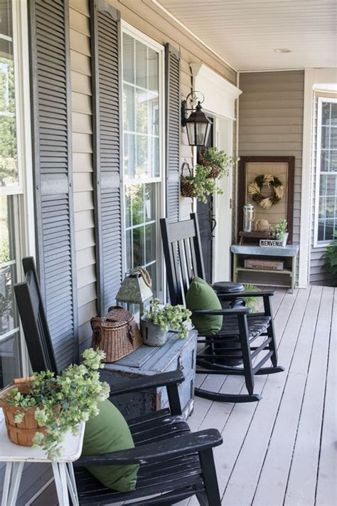 Decorate Front Porch 25 best ideas about farmhouse front porches on pinterest