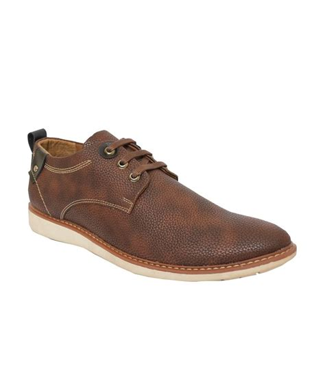 rabit brown leather casual shoes price in india buy rabit