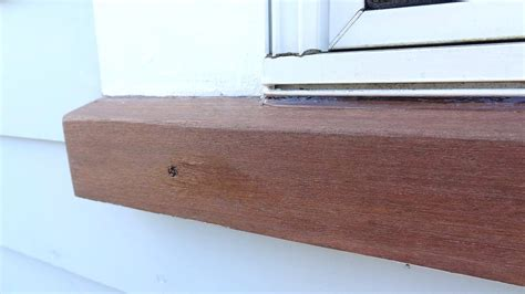 exterior window sill nosing trim