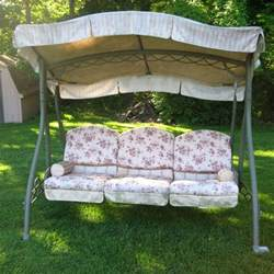 Patio Swing Replacement Canopy by Replacement Canopies For Walmart Swings Garden Winds