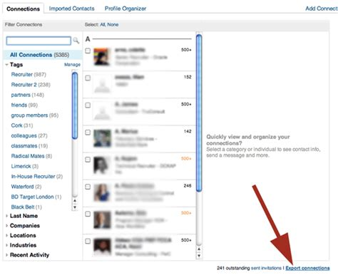 Marchesa Talent Or Connections by How To Export Your Linkedin Contacts Socialtalent