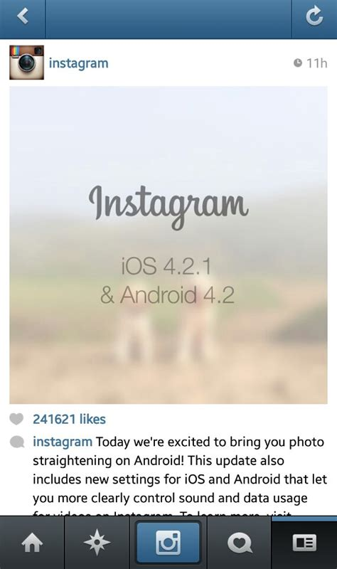 how to instagram on android instagram for android soon to get an update to fix wonky pictures coolsmartphone