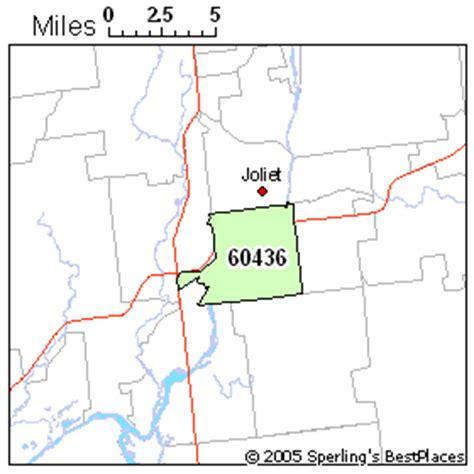 zip code map joliet il best place to live in joliet zip 60436 illinois