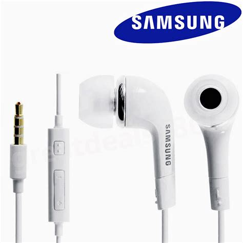 Headset Samsung Ace 2 genuine samsung ehs 64 headphones earphones galaxy s2 s3 s4 mini s5 ebay