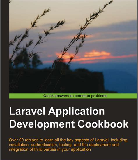 laravel tutorial book laravel application development cookbook review codeforest