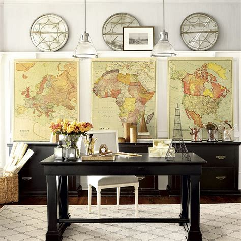 map home decor jenny castle design marvelous map decor