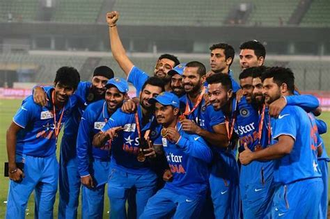 team india india cricket team schedule for 2016