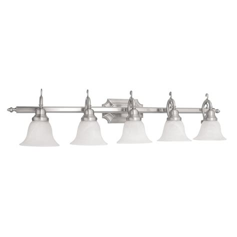 livex lighting french regency polished brass three light shop livex lighting french regency 5 light 9 25 in brushed