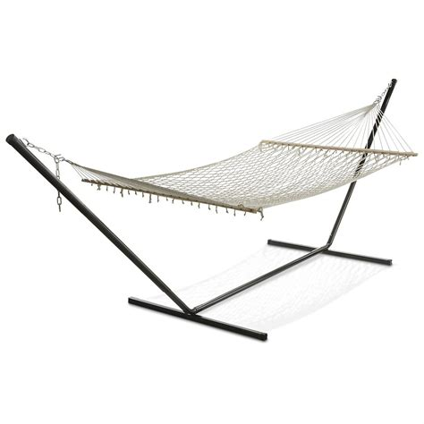 Discount Hammock Stands Deluxe Hammock Stand 134889 Patio Furniture At