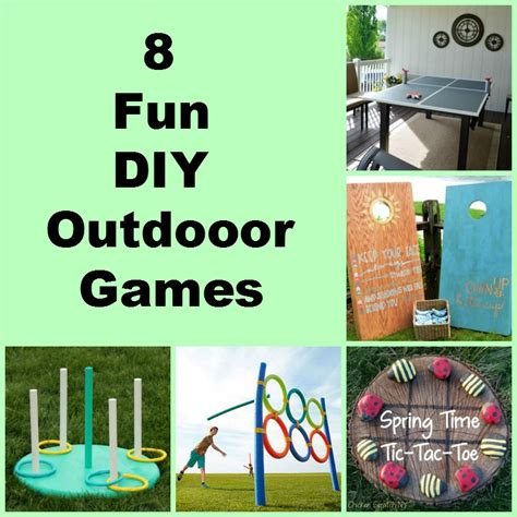 diy game 8 fun diy outdoor games my honeys place