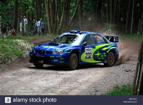 rally subaru colin mcrae subaru impreza rally car cornering goodwood