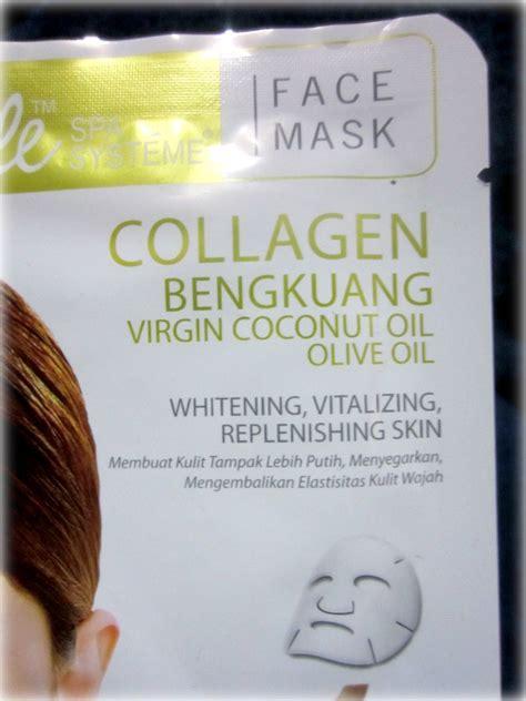Masker Vivelle weekly mask vivelle collagen bengkuang mask and