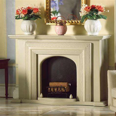 The Dolls House Emporium Grey Georgian Fireplace