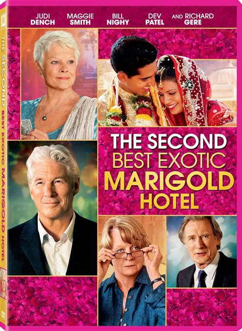 best marigold hotel dvd the second best marigold hotel reel
