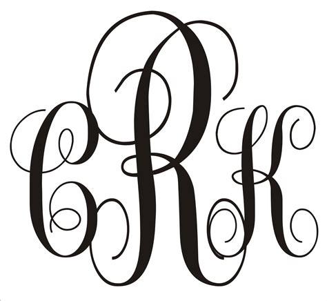 3 Letter Monogram Template 28 Images Monogram Letter Template 28 Images The Me House Monogram Letters Template