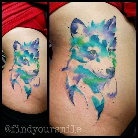 watercolor tattoos healed 17 best images about pattern tattoos on
