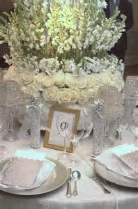 Silver Centerpieces For Table by Sabi S Blog Urban Parisian And Silver Wedding Table