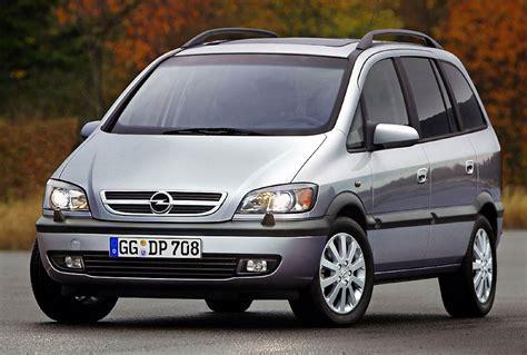 opel zafira 2003 opel zafira cars specifications technical data