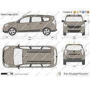 The Blueprintscom  Vector Drawing Dacia Lodgy